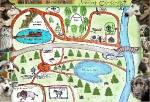 1. Пазл Карта Токсовского лесопарка